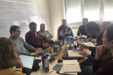 Project Management Meeting in Prishtina